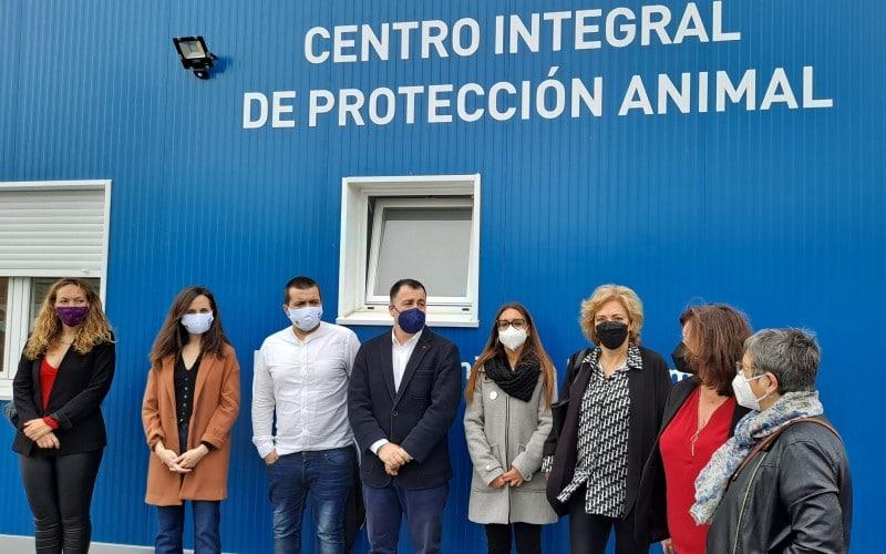 Visita institucional al Cipar de Rivas Vaciamadrid