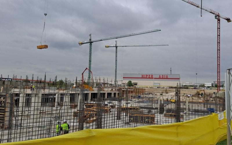 Obras de construcción de Fractal Rivas