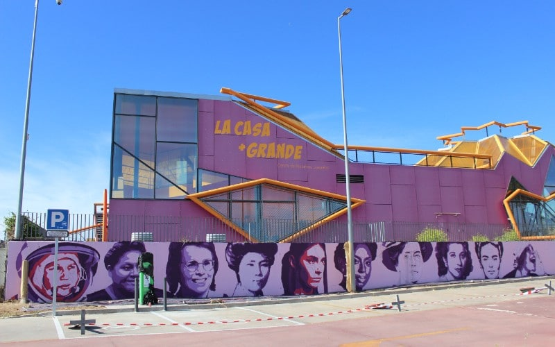 Mural feminista de Rivas