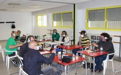 PSOE, Unidas Podemos y Más Madrid debaten en Rivas Vaciamadrid sobre la 'emergencia educativa'
