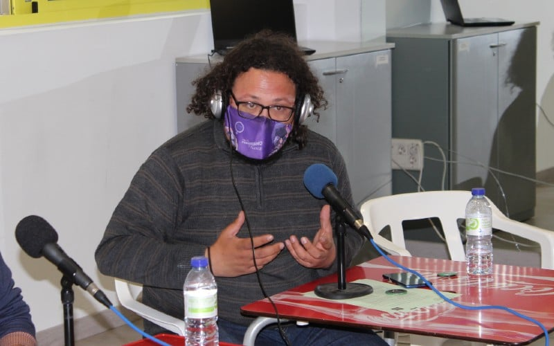 Jacinto Morano, en la mesa de partidos