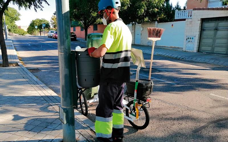 Personal de mantenimiento de Rivas