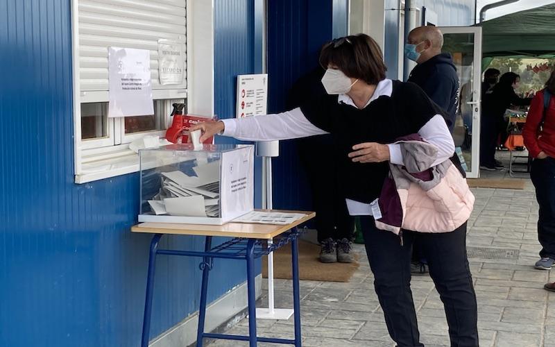 Vecina de Rivas, en la votación del nombre para el Cipar