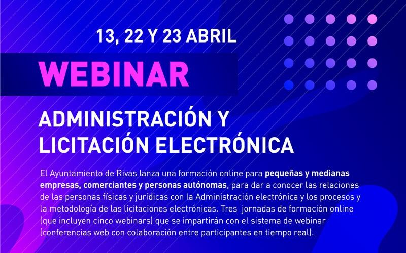 El Ayuntamiento de Rivas lanza un taller online dirigido a pymes y autónomos para aprender a licitar con la Administración