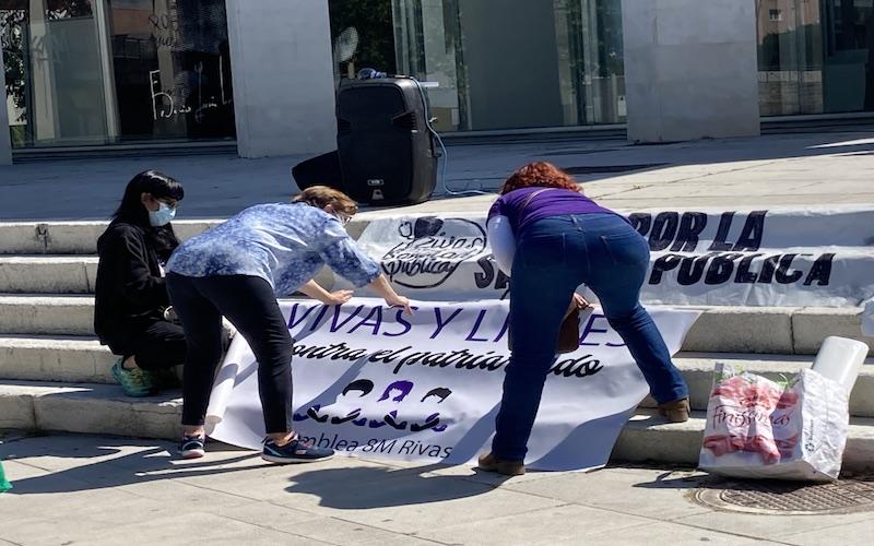 Acto público asociaciones en Rivas
