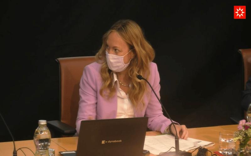 Vanesa Millán en la primera jornada del Plan de Economía Circular en Rivas Vaciamadrid