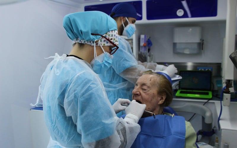 Servicio de odontología en Geriasa Rivas