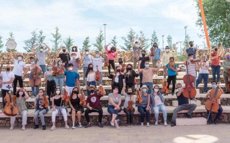 Música: la orquesta Athanor en la Plaza de la Constitución