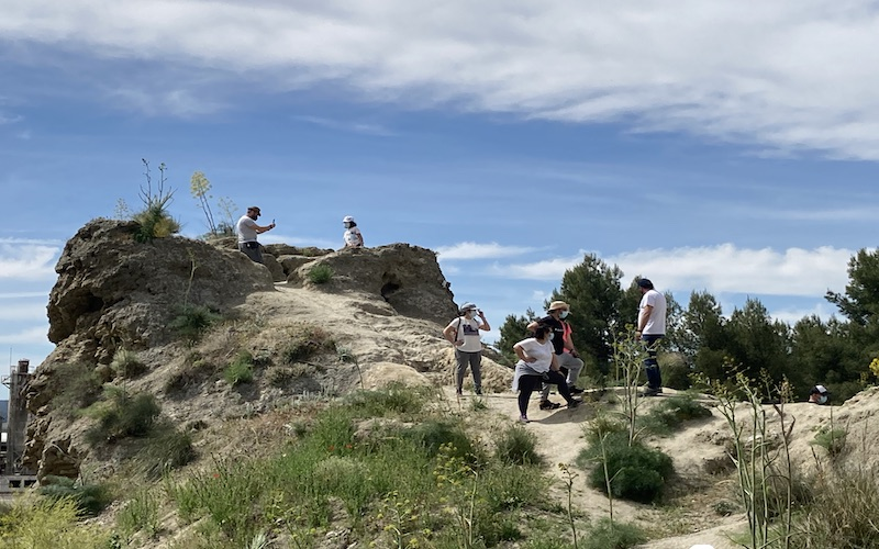 Observatorio en la 2º línea de defensa republicana en Rivas Vaciamadrid