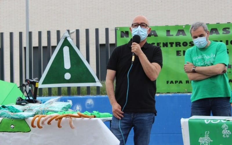 José Alfaro, concejal de Educación del Ayuntamiento de Rivas