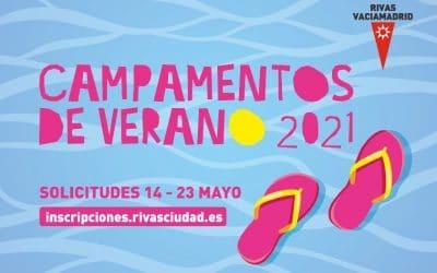 Abierto el plazo de inscripción para los campamentos de verano municipales de Rivas 2021