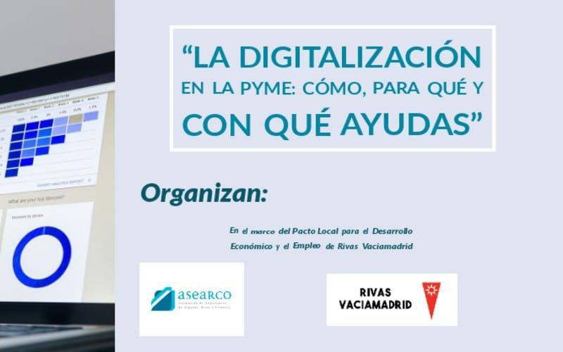 """Así fue el webinario """"La digitalización en la pyme: cómo, para qué y con qué ayudas"""""""