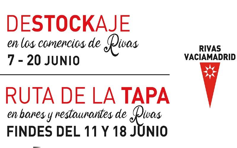 Destockaje y la Feria de la Tapa de Rivas