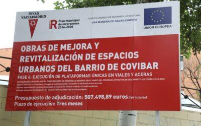 La avenida de Covibar sufrirá cortes de tráfico desde este lunes por obras