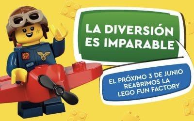 El centro comercial H2O de Rivas celebra la reapertura de La LEGO Fun Factory con un sorteo para las familias asistentes