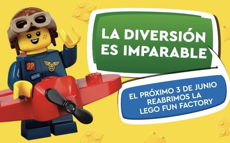 Reapertura LEGO Fun Factory