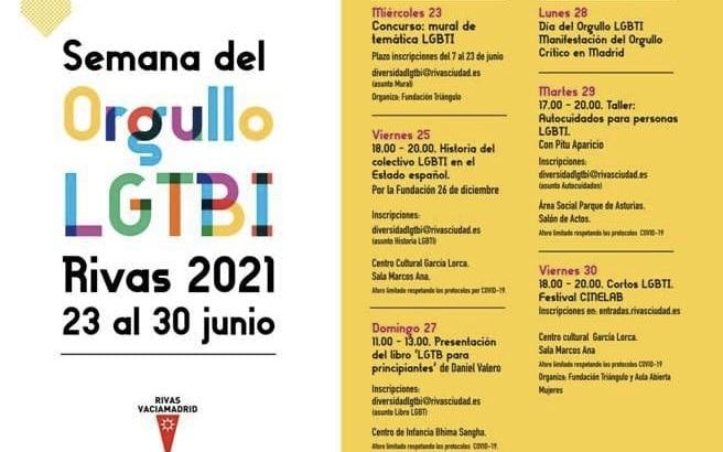 Semana del Orgullo LGTBI en Rivas