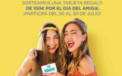 El centro comercial H20 celebra el Día del Amigo sorteando una tarjeta regalo por valor de 100 euros