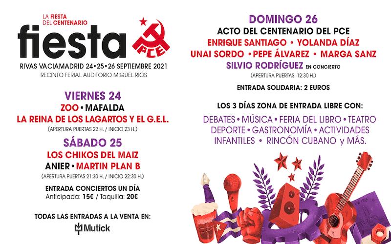 Fiesta PCE Rivas Vaciamadrid