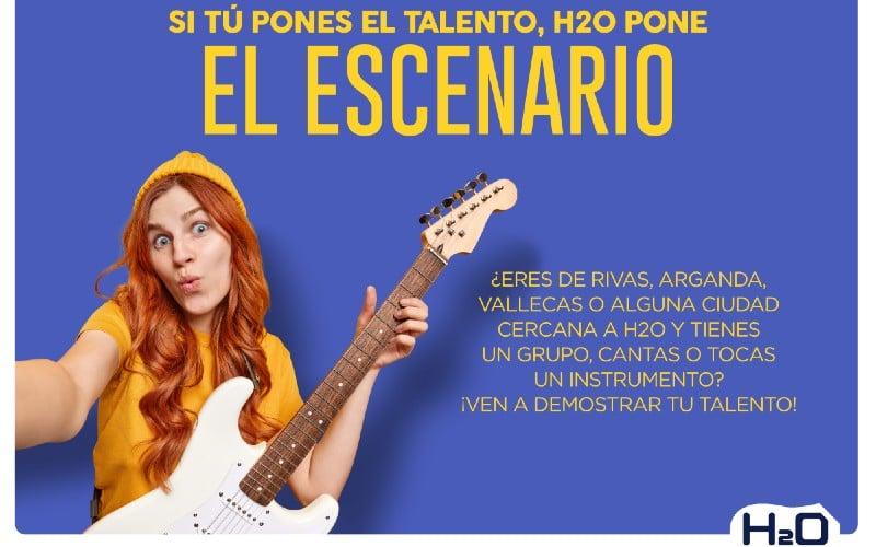 El centro comercial H2O te invita a compartir en directo tu talento musical en Tardeo Fun Music