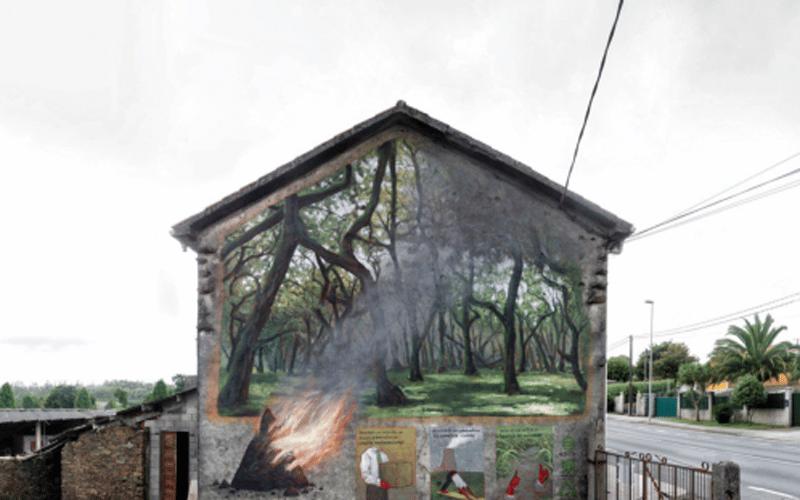 Estos son los cinco proyectos de arte al aire libre que se plasmarán en Rivas este año