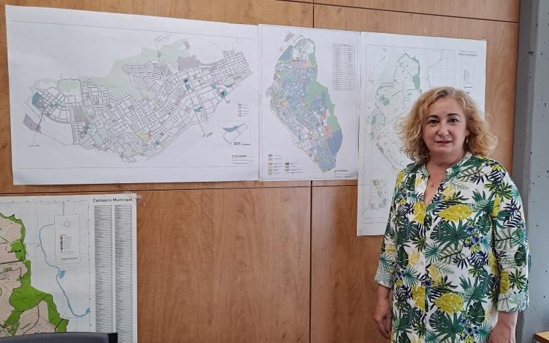 Pilar Gabina Alonso, en su despacho en el edificio Atrio