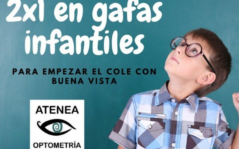Promoción de Atenea Optometría de Rivas