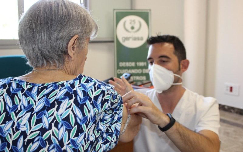 Consulta del dietista nutricionista de Geriasa en el centro de Rivas