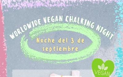 Worldwide Vegan Chalking Night