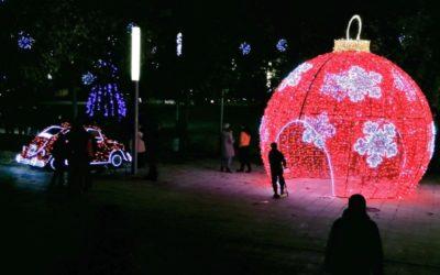Rivas aumenta en un 58% el presupuesto para luces en la próxima Navidad