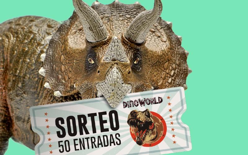 Sorteo 50 entradas DinoWorld centro comercial H2O