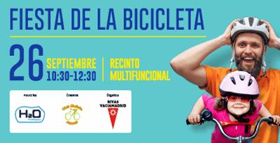 El centro comercial H2O de Rivas será la meta de la Fiesta de la Bicicleta con regalos y descuentos