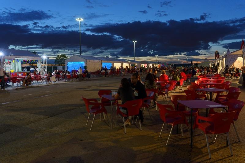 Fiestas de Rivas Vaciamadrid: casetas con aforo incompleto en la noche del jueves