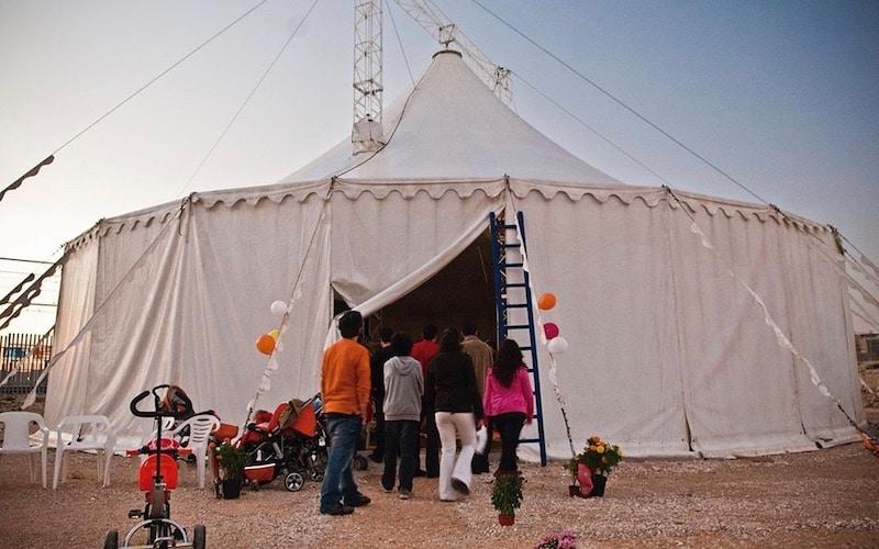 La Carpa Arribas Circo, junto a la Casa+Grande