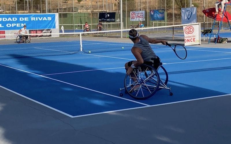 Vuelve a Rivas el Open Internacional de Tenis en silla de ruedas: así fue el torneo