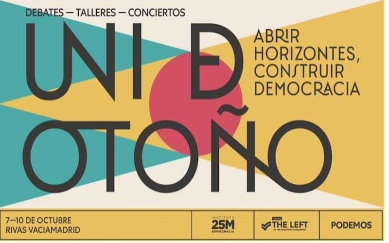 Logo ´Uni´ de Otoño, Podemos Rivas
