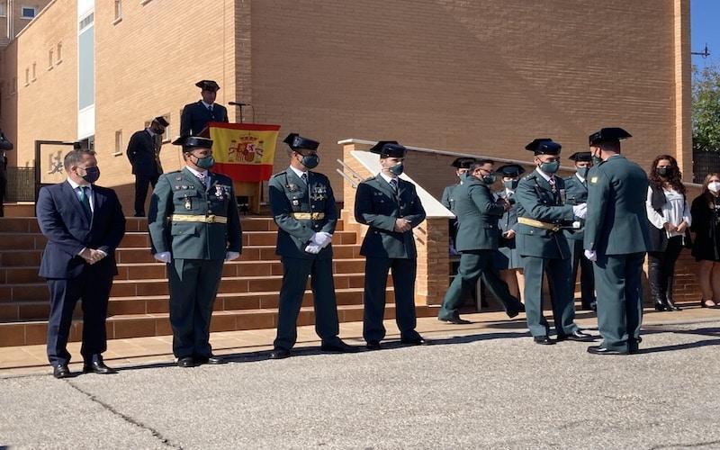 La Guardia Civil de Rivas rinde homenaje a su patrona en la fiesta del 12 de octubre