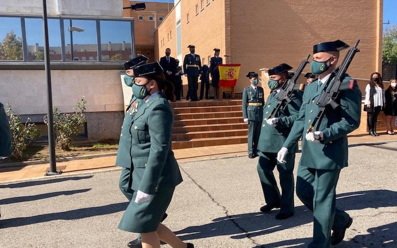 Acto conmemorativo a la patrona de la Guardia Civil, la Virgen del Pilar, este martes 12 de octubre