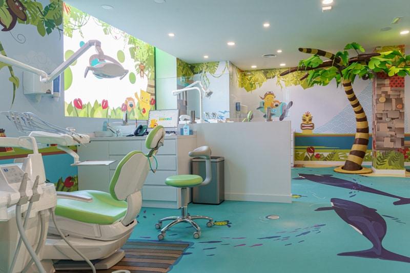 Gabinetes de ortodoncia de la clínica Moonz en Rivas