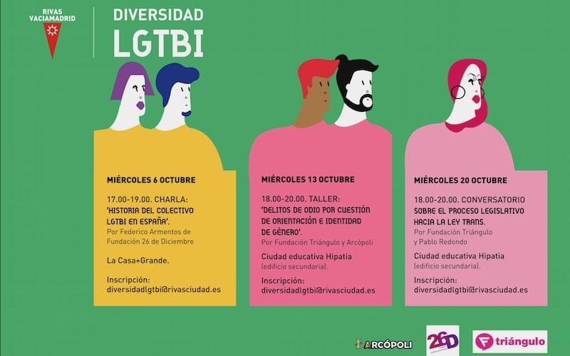 Diversidad LGTBI Rivas