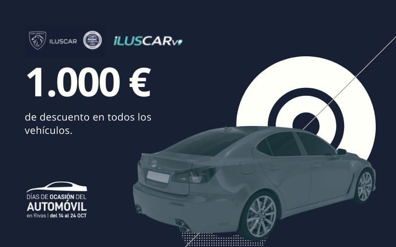 Iluscar ofrece mil euros de descuento en tu nuevo coche en los Días de Ocasión del Automóvil de Rivas