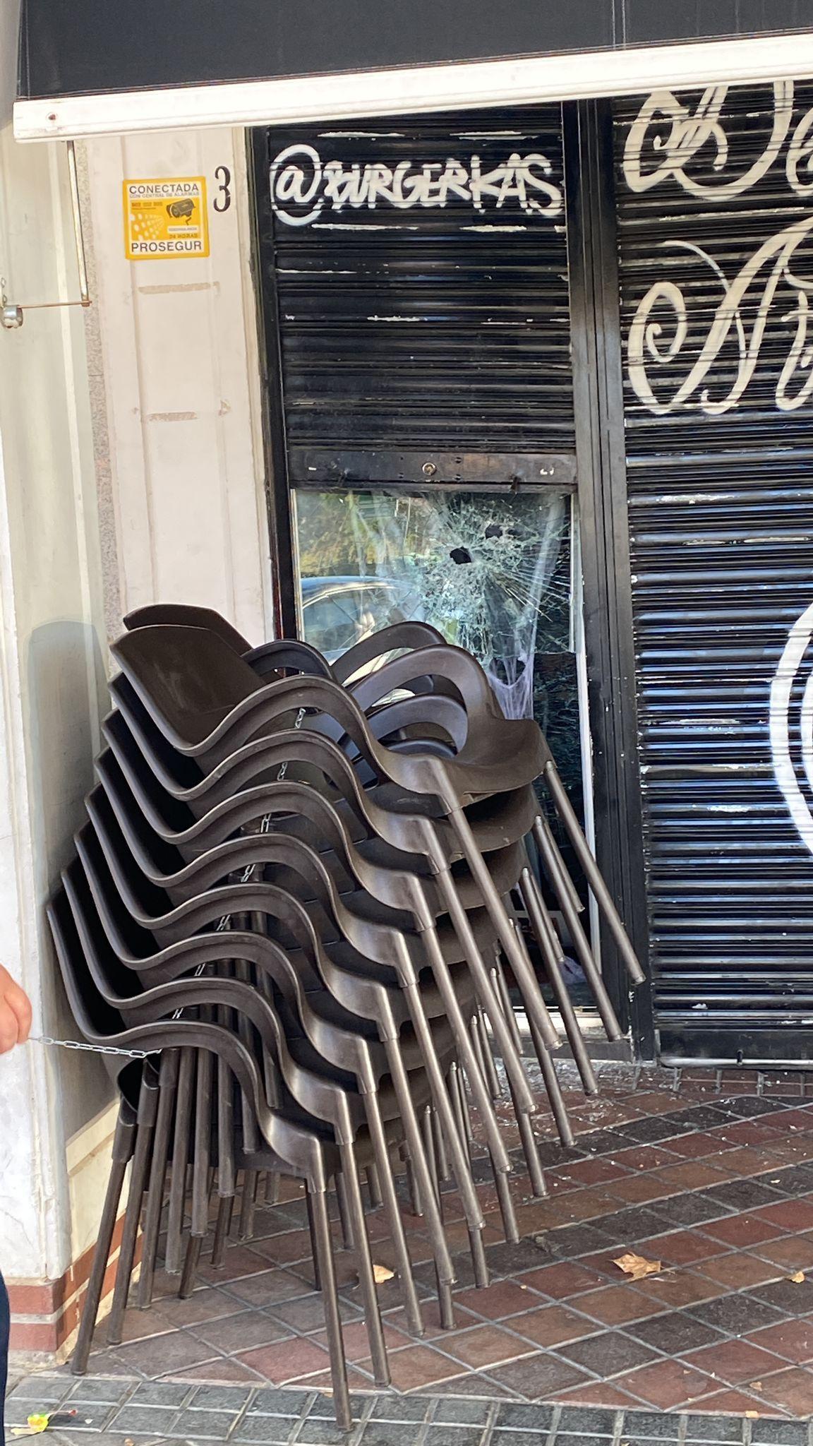 Robo en el Burger Kas, en avenida de Pablo Iglesias